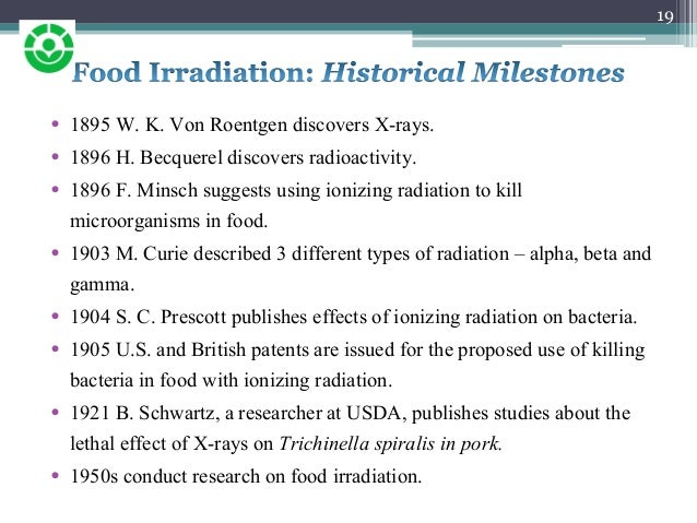 food preservation by irradiation pdf