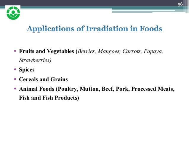 food preservation using irradiation pdf