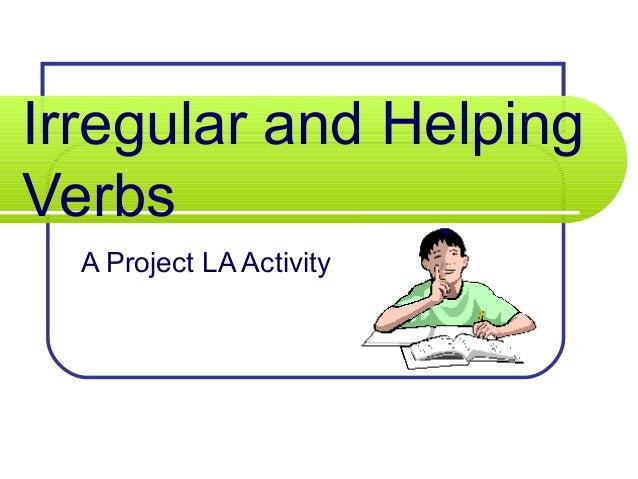 helping verb powerpoint presentations