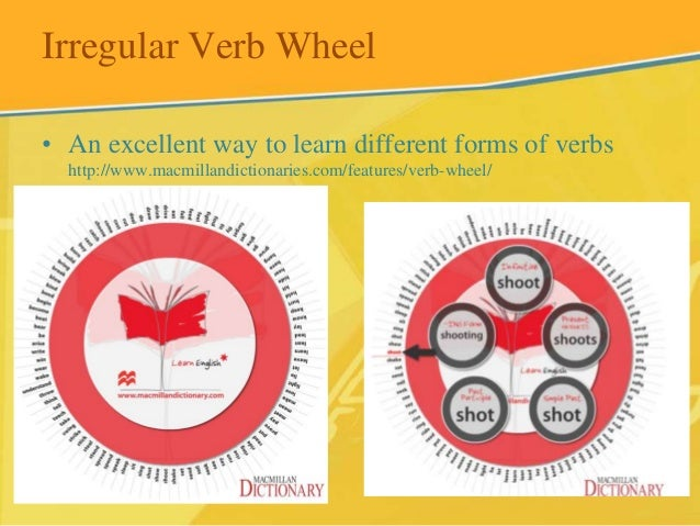 Irregular verbs some resources for learning and practice