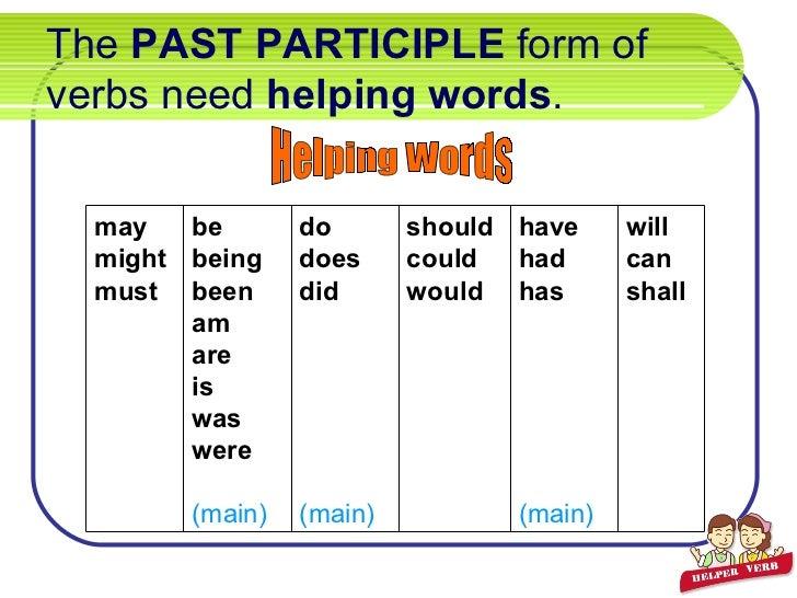 Irregular Verbs Practice Examples Of Helping Verbs