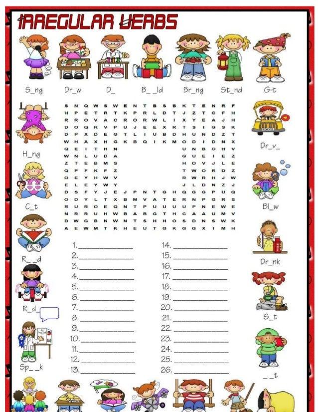 two word verbs list pdf