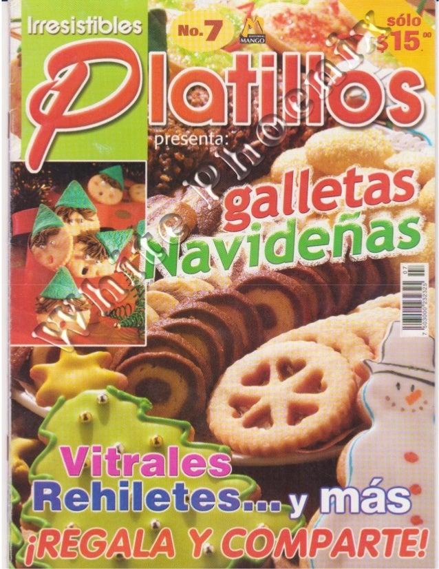 Irresistibles platillos -_galletas_navideñas