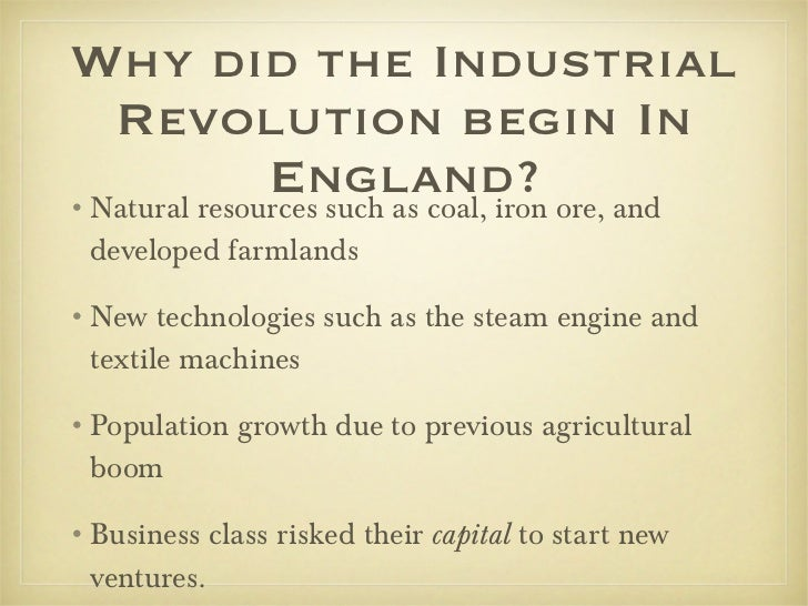 essay on the industrial revolution in england In the political sphere also the industrial revolution had manifold impact in the first place it led to colonization of asia and africa great britain and other industrial countries of europe began.