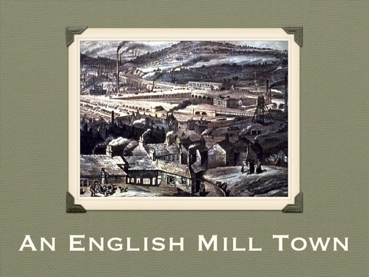 An English Mill Town