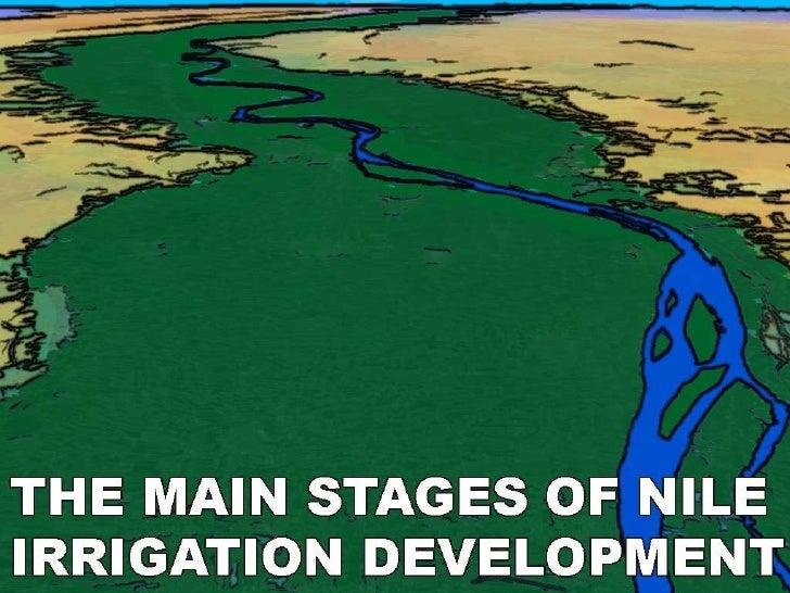 Irrigation Development in Egypt