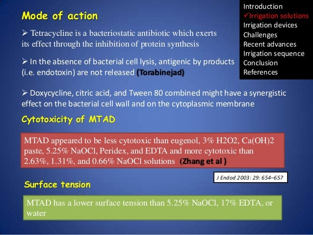 Mode of action  Tetracycline is a bacteriostatic antibiotic which exerts its effect through the inhibition of protein syn...