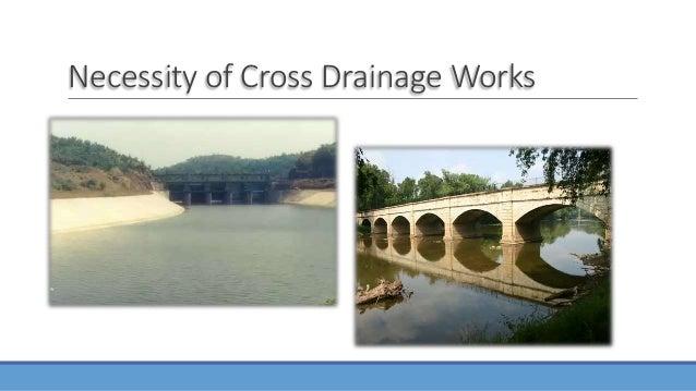Cross Drainage Works By Engr Ehtisham Habib