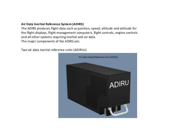 b737ng irs rh slideshare net Air Data System 737 Adiru