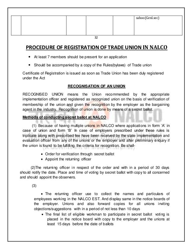 report on nalco National aluminium company limited, abbreviated as nalco, (incorporated 1981) has units in odisha at places like angul and damanjodi it was incorporated as a public sector enterprise of the ministry of mines , government of india in 1981.