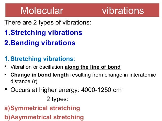 molecular vibration and bond length Key words: f2, cl2, br2, i2 mean amplitudes of vibration bond properties   interhalogen molecules molecule force constant bond energy bond length f2.