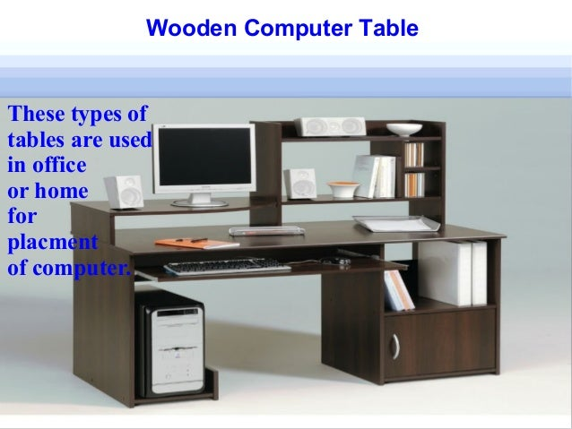 Wooden Table And Their Types