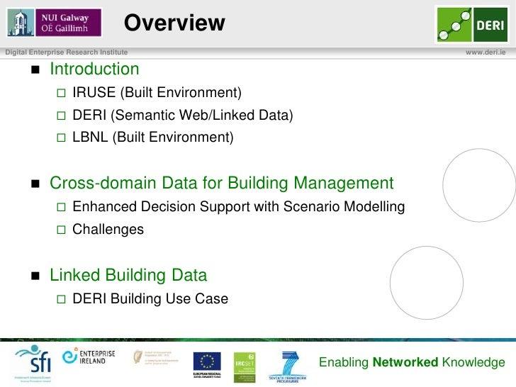 Building Optimisation using Scenario Modeling and Linked Data Slide 2