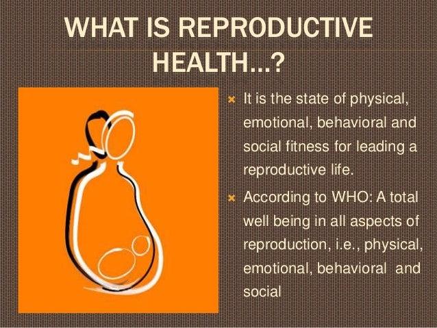 Reproductive health- class 12 cbse