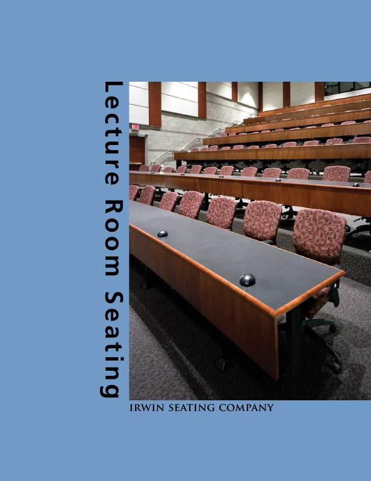 Lecture Room Seating                        irwin seating company