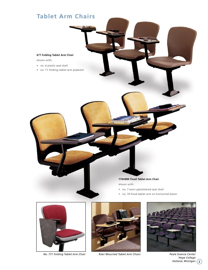 Irwin Seating Lecture Room Brochure 2008 Edition