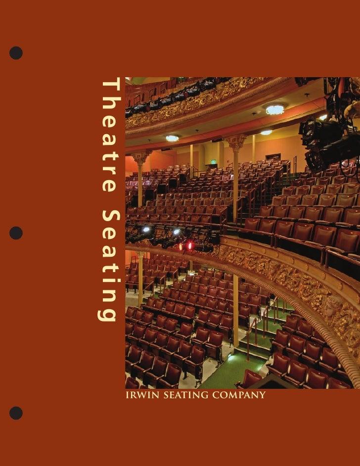 Theatre Seating                   irwin seating company