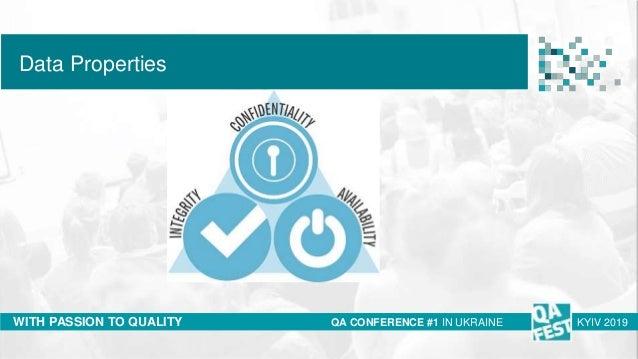 QA Fest 2019. Ирина Бондарук. Breaking into information security Slide 3