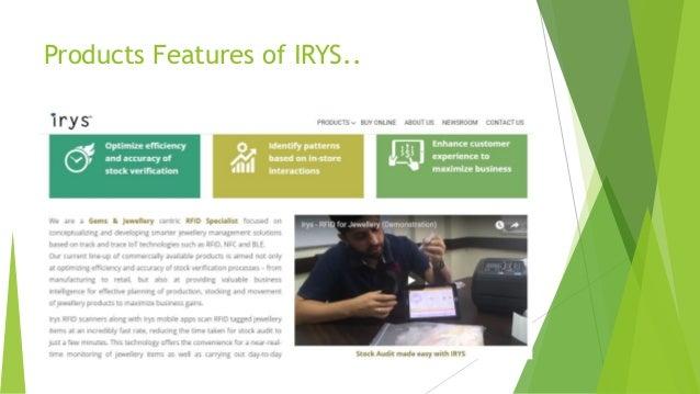 RFID Jewelry Tracking System By Irys Pte  Ltd