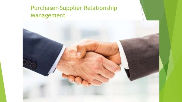 supplier and retailer relationship