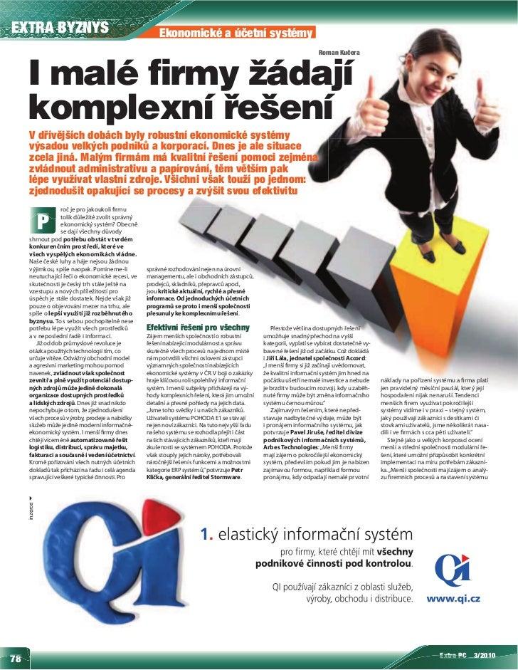 EXTRA BYZNYS                                            Ekonomické a účetní systémy                                       ...