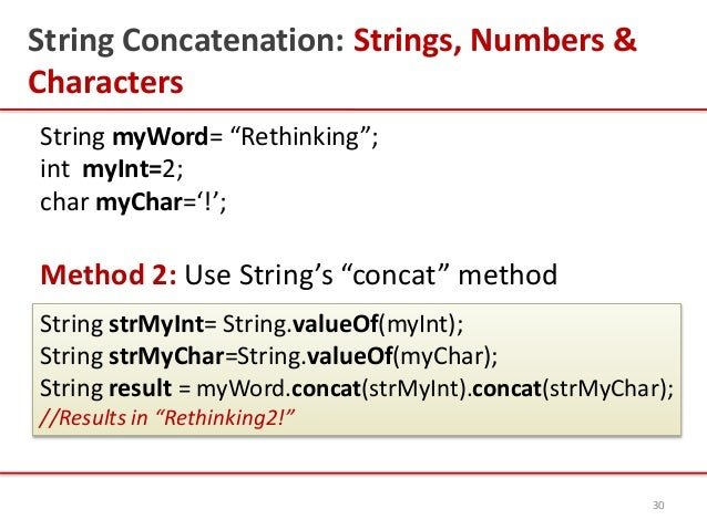 Introduction to Java Strings, By Kavita Ganesan