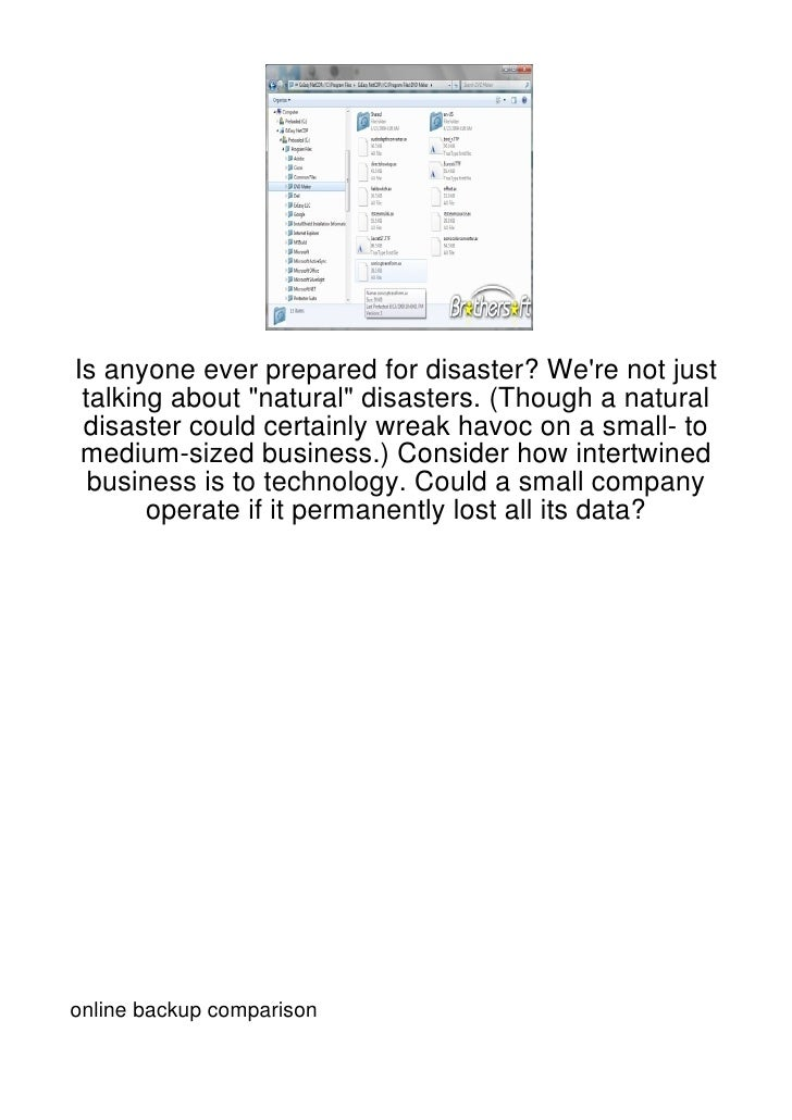"""Is anyone ever prepared for disaster? Were not just talking about """"natural"""" disasters. (Though a natural disaster could ce..."""