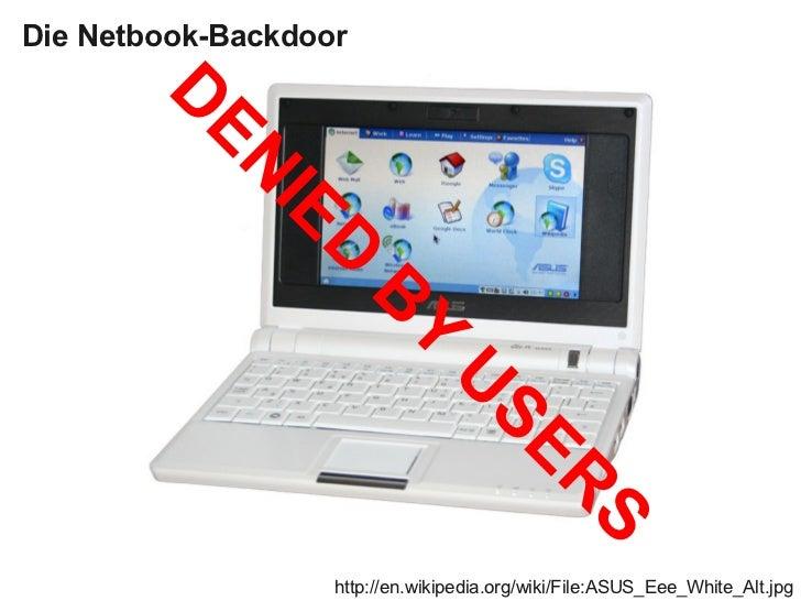 Die Netbook-Backdoor        D         EN               IE                  D                       B                      ...