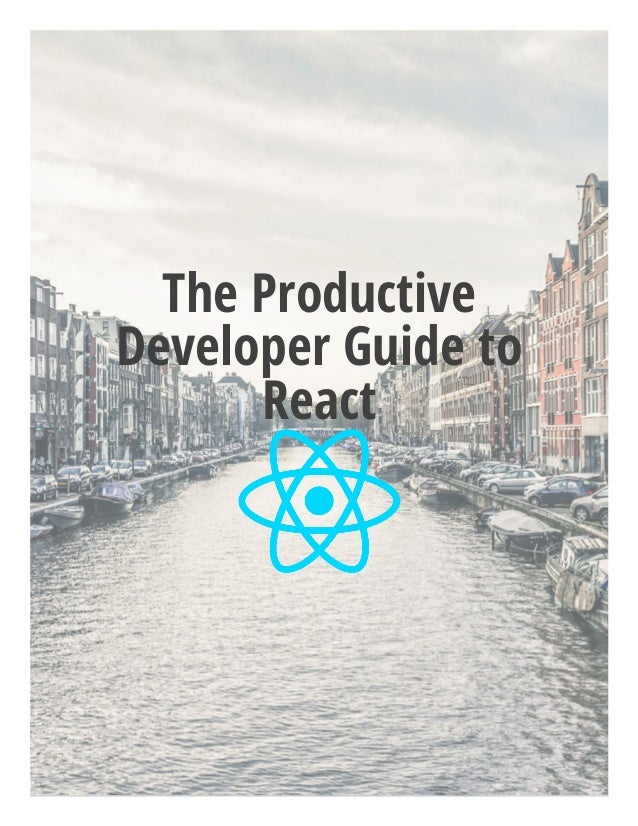 The Productive Developer Guide to React