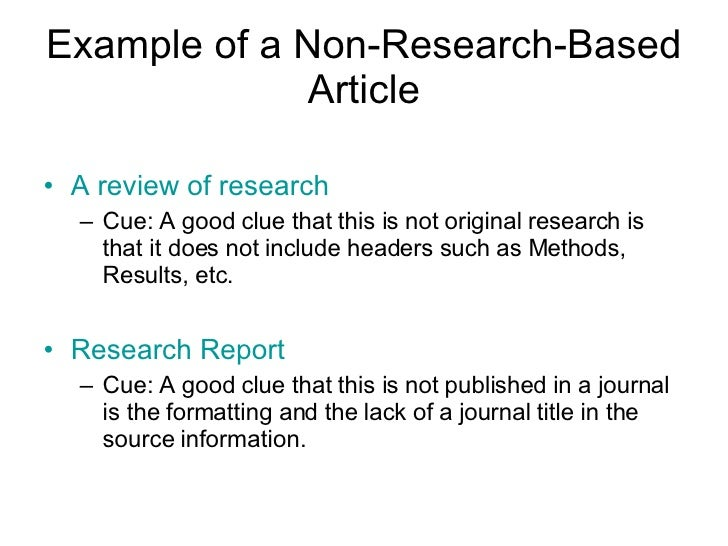 this article consists of a research Your professor may tell you that you're required to use journal articles for your research paper so what is a journal article, and how do you find one.
