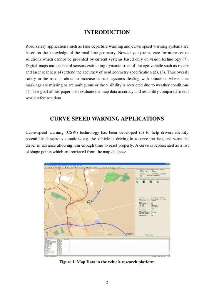 Offline Optimization Of Curve Speed Warning Applications, Vassilis Kaffes, ICCS Slide 2