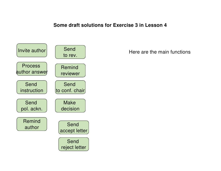Some draft solutions for Exercise 3 in Lesson 4     Invite author       Send                                              ...