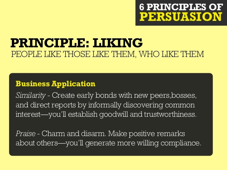 6 PRINCIPLES OF                                    PERSUASIONPRINCIPLE: AUTHORITYPEOPLE DEFER TO EXPERTS WHO PROVIDESHORTC...