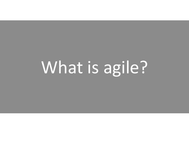 Agile Marketing: Transforming the way you work and the way