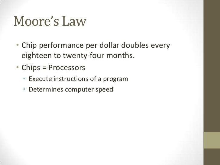 Is 201 presentation_2_moore's_law[1] Slide 2