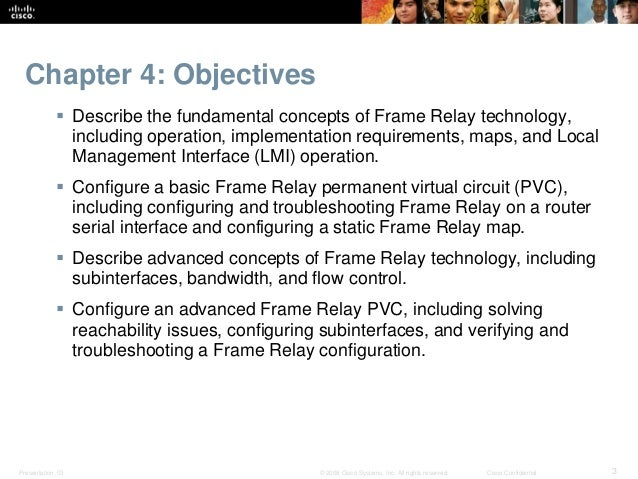 Ppt ccna 4 v3. 1 module 5 frame relay powerpoint presentation.