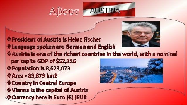 Austria - power point presentation Slide 3