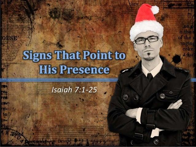 Isaiah 7:1-25