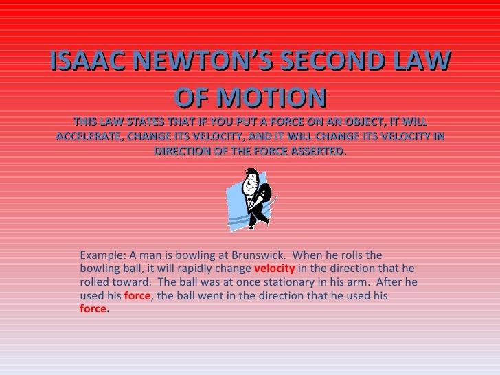 Isac Newton's Law
