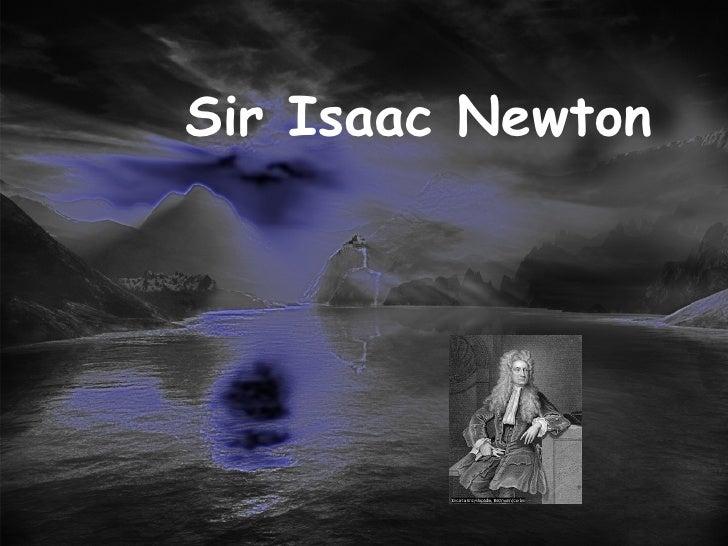 isaac newton - Isaac Newton Lebenslauf