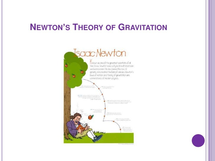 newtons theroy Introduction to newton's laws of motion,in particular the concepts of force and inertia part of an educational web site on astronomy, mechanics, and space.