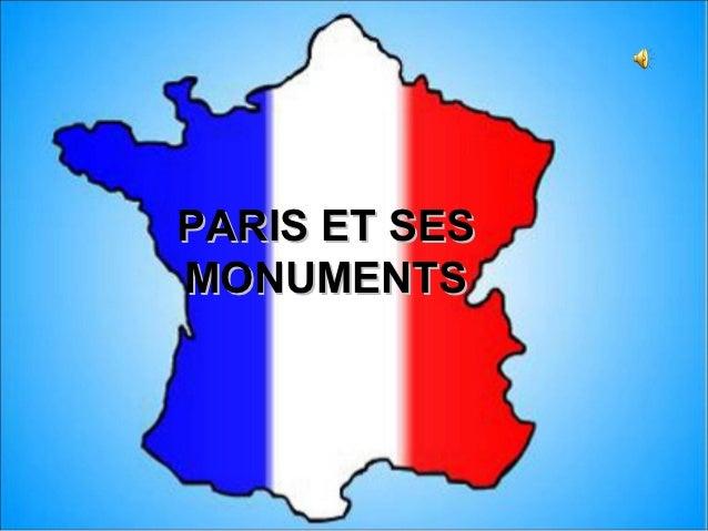 PARIS ET SESMONUMENTS
