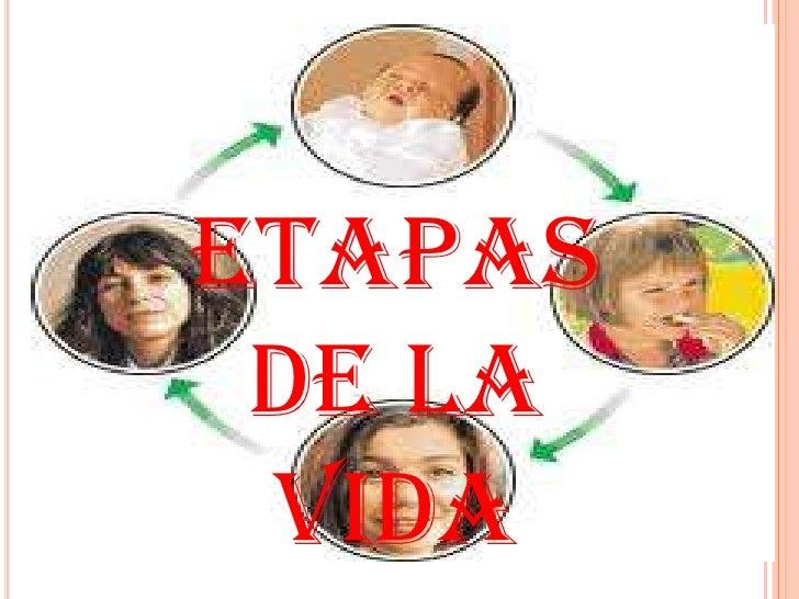 ETAPASDE LA VIDA<br />