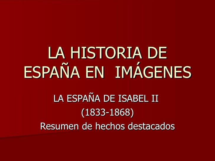 Isabel iiresumen