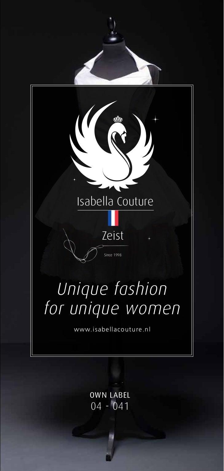 Isabella Couture                              Zeist                               Since 1998        Unique fashion      fo...
