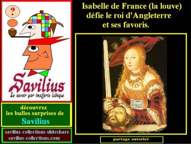 Isabelle défie le roi  d'angleterre