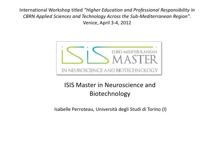 """International Workshop titled """"Higher Education and Professional Responsibility in  CBRN Applied Sciences and Technology A..."""