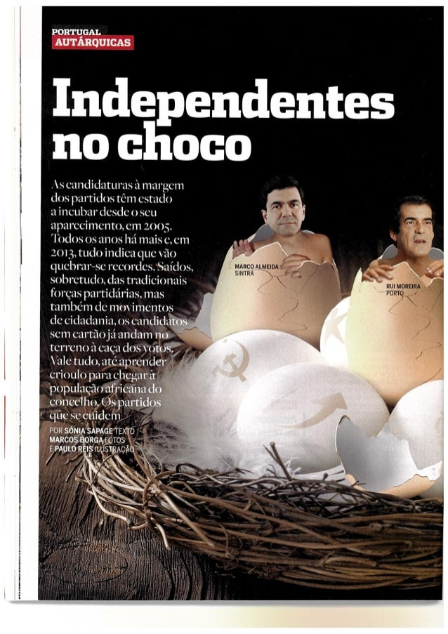 Isabel Magalhães - Candidatura Independente a Cascais (Revista Visão)