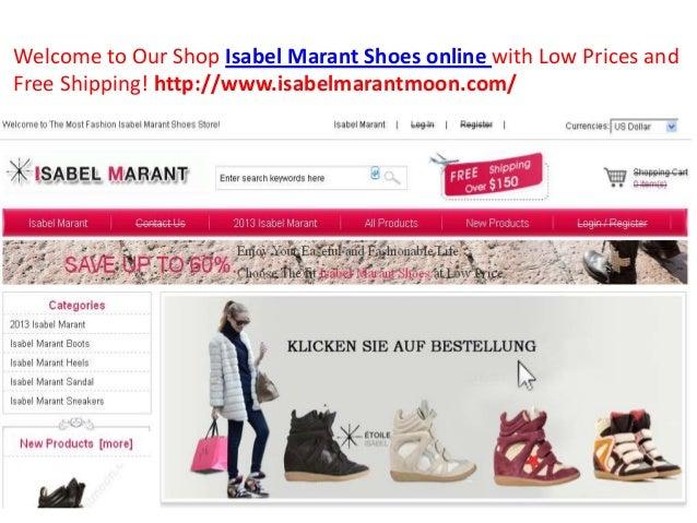 isabel marant shoes online