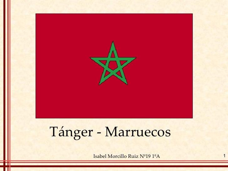 Tánger - Marruecos